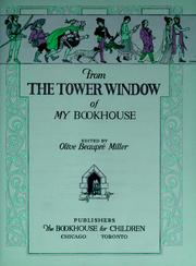 Cover of: From the tower window of my bookhouse | Olive BeaupreМЃ Miller