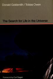 Cover of: The search for life in the universe | Donald Goldsmith