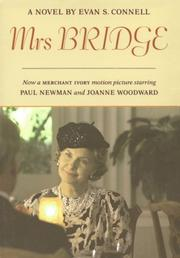 Mrs. Bridge by Evan S. Connell