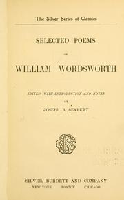 Selected Poems Of William Wordsworth 1902 Edition Open