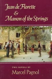 Cover of: Jean De Florette and Manon of the Springs