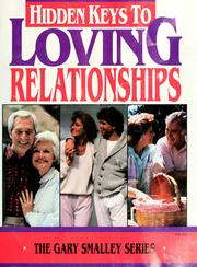 Cover of: Seminar supplement to Hidden keys to loving relationships | Gary Smalley