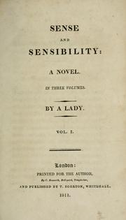 Cover of: Sense and sensibility | Jane Austen