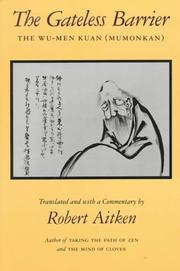 Cover of: The Gateless Barrier | Robert Aitken