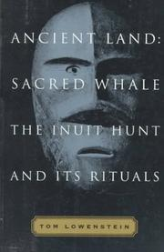 Cover of: Ancient land, sacred whale