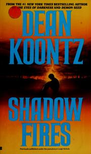 Cover of: Shadowfires by Dean Koontz.