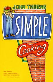 Cover of: Simple Cooking