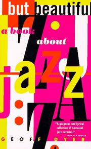Cover of: But Beautiful: A Book about Jazz