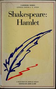 Cover of: Shakespeare: Hamlet by John Davies Jump