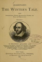 Shakespeare's The winter's tale. (1890 edition) | Open Library