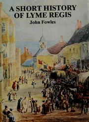 Cover of: A short history of Lyme Regis