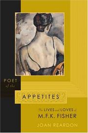 Cover of: Poet of the Appetites | Joan Reardon