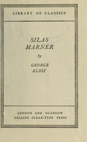 Cover of: Silas Marner by George Eliot