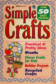 Cover of: Simple crafts | L. A. Justice