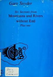 Cover of: Six sections from Mountains and rivers without end, plus one