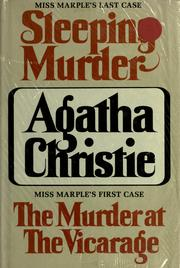 Cover of: Sleeping murder & The murder at the vicarage