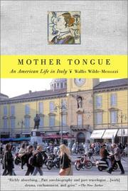 Cover of: Mother Tongue | Wallis Wilde-Menozzi