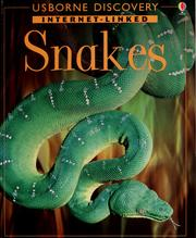 Cover of: Snakes | Rachel Firth