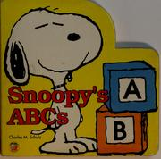 Cover of: Snoopy's ABCs | Charles M. Schulz