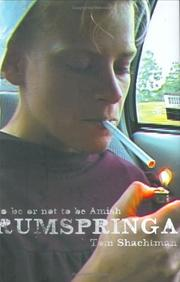 Cover of: Rumspringa: To Be or Not to Be Amish