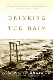 Cover of: Drinking the rain