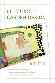 Cover of: Elements of Garden Design | Joe Eck