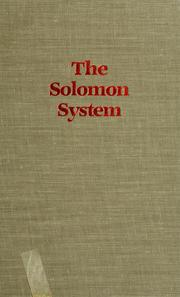 Cover of: The Solomon system |