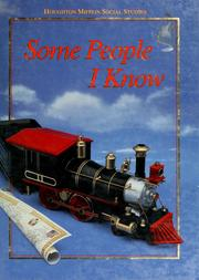 Cover of: Some people I know | Beverly J. Armento ... [et al.].