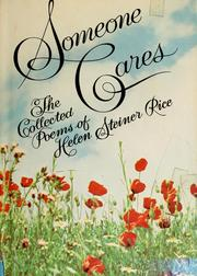 Cover of: Someone cares | Helen Steiner Rice