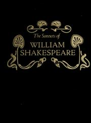 Cover of: The sonnets of William Shakespeare | William Shakespeare