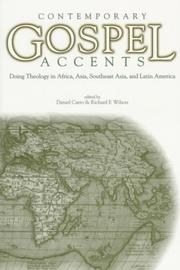 Cover of: Contemporary Gospel Accents |