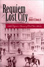 Cover of: Requiem for a lost city