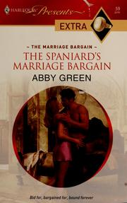 The spaniards marriage bargain 2009 edition open library cover of the spaniards marriage bargain abby green fandeluxe Choice Image
