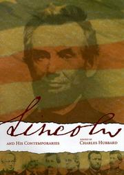 Cover of: Abraham Lincoln and his contemporaries