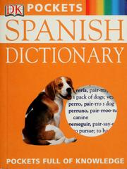 Cover of: Spanish dictionary |