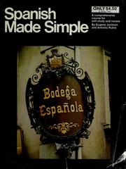 Cover of: Spanish made simple | Eugene Jackson