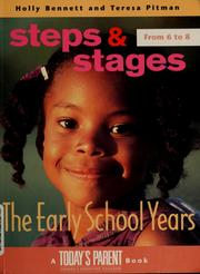 Cover of: Steps and stages | Holly Bennett