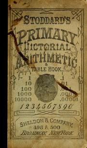 Cover of: Stoddard's primary arithmetic by John F. Stoddard