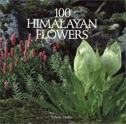 Cover of: 100 Himalayan flowers | Ashvin Mehta