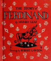 Cover of: The story of Ferdinand | Munro Leaf