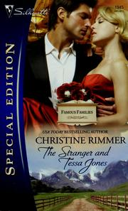 The Stranger and Tessa Jones by Christine Rimmer