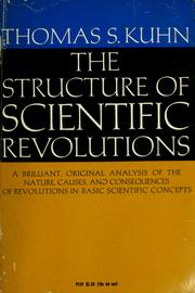 Cover of: The structure of scientific revolutions