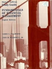 Cover of: Study guide, eighth edition, Fundamentals of financial management | Mary Kay Sullivan
