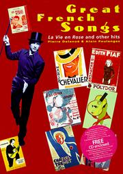 Cover of: Great French songs