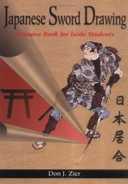 Cover of: Japanese sword drawing by Don Zier