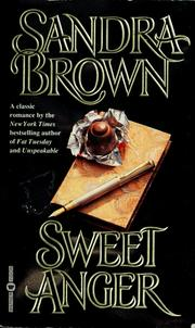 Sweet Anger by Sandra Brown