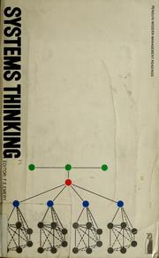 Systems thinking by F. E. Emery