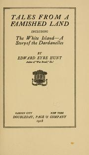 Cover of: Tales from a famished land | Hunt, Edward Eyre