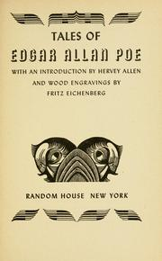 Cover of: Tales of Edgar Allan Poe by Edgar Allan Poe