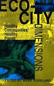 Cover of: Eco-City Dimensions | Mark Roseland